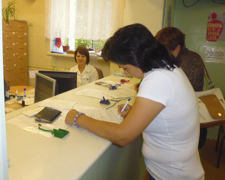 Вы просматриваете фотографии из материала: Акция «Милосердие без выходных» в КОГКУЗ 'Кировский центр крови'