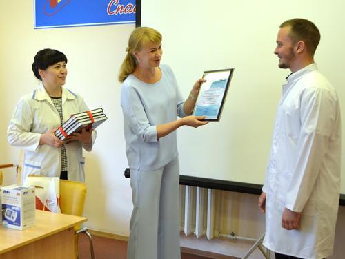 Вы просматриваете фотографии из материала: Награждение победителей конкурса «Хочу стать доктором»