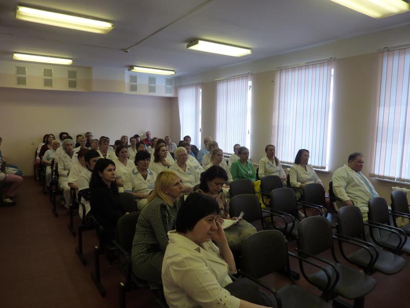 Вы просматриваете фотографии из материала: В КОГБУЗ «Кировский центр крови» прошла очередная тренировка сотрудников