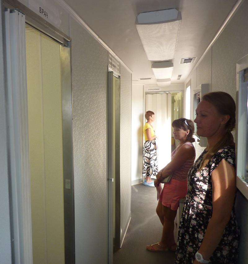 Вы просматриваете фотографии из материала: Выездная акция в Нововятске