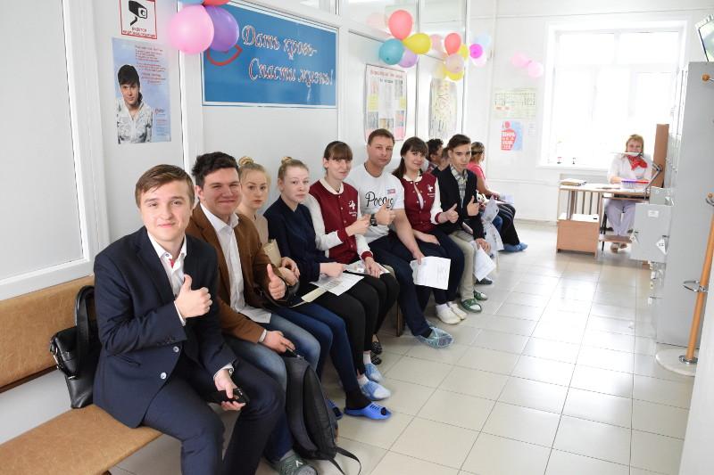 Вы просматриваете фотографии из материала: Представители молодежных движений приняли участие